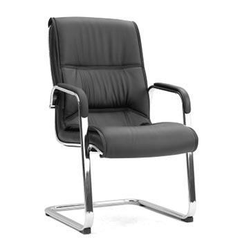 办公椅,尺寸100*58*73 黑牛皮(散件不含安装)
