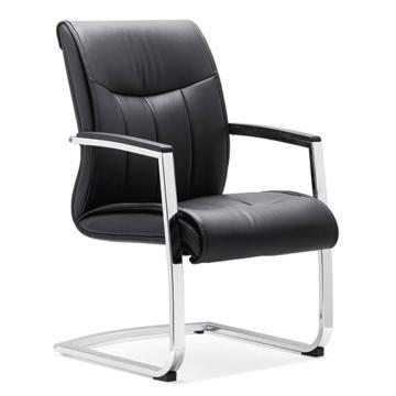 办公椅,尺寸98*59*71 黑牛皮(散件不含安装)