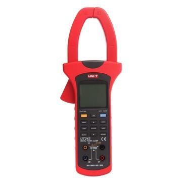 优利德/UNI-T 数字钳形功率计,单交流,真有效,相序/谐波可测,UT243