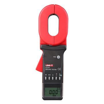 优利德/UNI-T 钳形接地电阻测试仪,1200欧,漏电流可测,UT278A