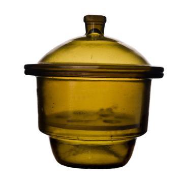 国产棕色玻璃干燥器,180㎜