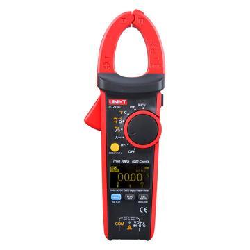 优利德/UNI-T UT216D钳形表,交直流,真有效,钳口直径30mm,OLED显示,400HZ高频响