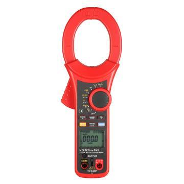 优利德/UNI-T UT222钳形表,交直流,真有效,钳口直径63mm,2500A大电流