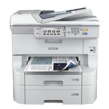 爱普生(EPSON)WF-8593 A3+彩色墨仓式数码复合机 三纸盒