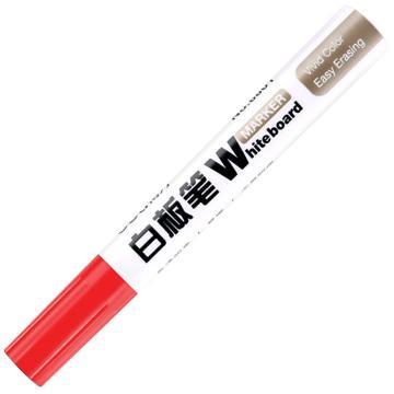 得力白板笔,6801(红色)10支/盒