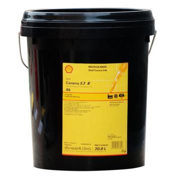 壳牌 空压机油,确能立 Corena S3 R 46,20L/桶