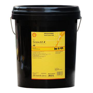 壳牌 空压机油,确能立 Corena S3 R 68,20L/桶