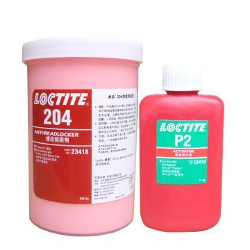 乐泰 预涂胶,Loctite 204,500g