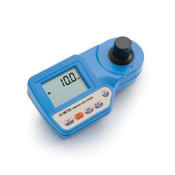 HANNA微电脑氨氮(HR)浓度测定仪,测量范围:0.0 to 50.0 mg/L,HI96733