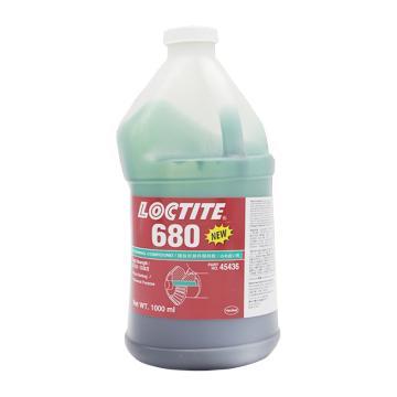 乐泰 圆柱 固持胶,Loctite 680,1L