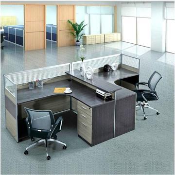 铭睿办公桌,两人位带柜2400*1400mm (不含安装)