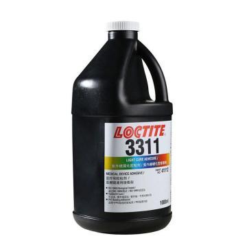 乐泰光固化胶,Loctite 3311UV,1L