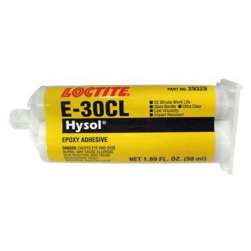 乐泰 环氧胶 结构粘结,Loctite E-30CL 低粘度型,50ml
