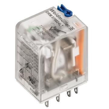 魏德米勒Weidmuller DRM中间继电器,DRM270024LT AU(20的倍数下单)