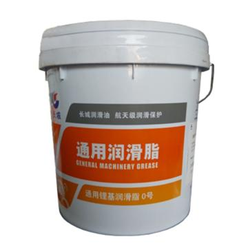 长城 润滑脂,尚博通用锂基润滑脂 0 号,15kg/桶