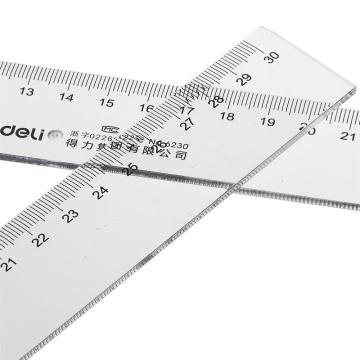 得力 直尺,30cm6230 单个