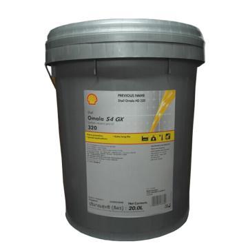 壳牌 合成齿轮油,可耐压 Omala S4 GX 320,20L/桶