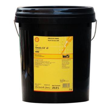 壳牌 齿轮油,可耐压 Omala S2 G 680,20L