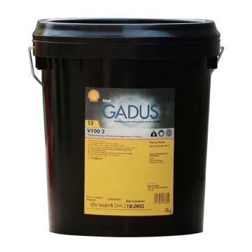 壳牌 润滑脂,佳度 Gadus S2 V100 Grease 2,18kg/桶