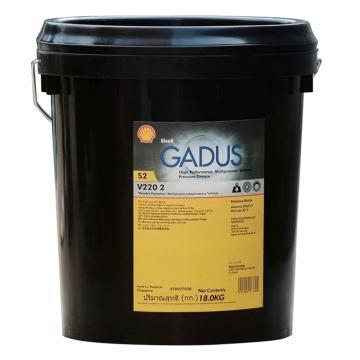 壳牌 润滑脂,佳度 Gadus S2 V220 Grease 2,18kg/桶