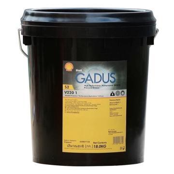 壳牌 润滑脂,佳度 Gadus S2 V220 Grease 1,18kg/桶