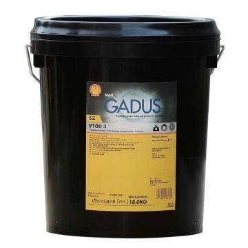 壳牌 润滑脂,佳度 Gadus S2 V100 Grease 3,18kg/桶