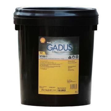 壳牌 润滑脂,佳度 Gadus S2 V100 Grease 1,15kg/桶