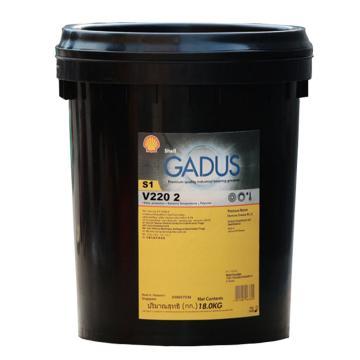 壳牌 润滑脂,佳度 Gadus S1 V220 2,18kg/桶