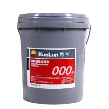 昆仑000号通用锂基润滑脂,15KG