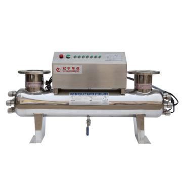 紫外线消毒器,DN65法兰,功率225W,承压0.6Mpa