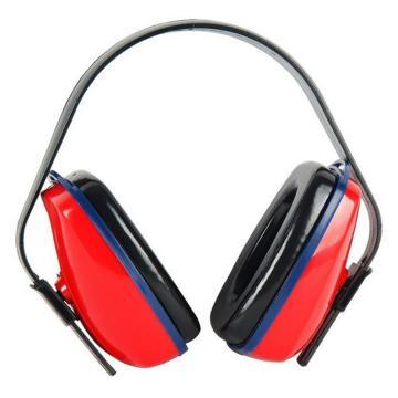 3M 頭戴式耳罩,1425,經濟型 紅黑