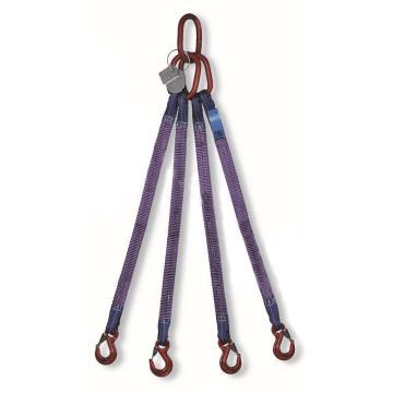 多来劲 四腿扁平吊带组合吊具,05152004 2.1T*2.5m
