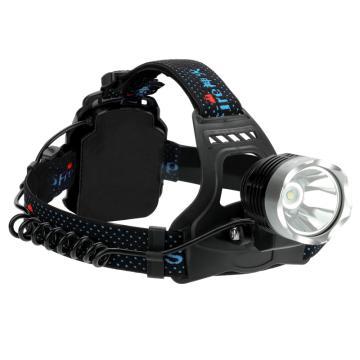 神火 LED充电头灯 HL31,含3个电池,含1个USB接口充电器