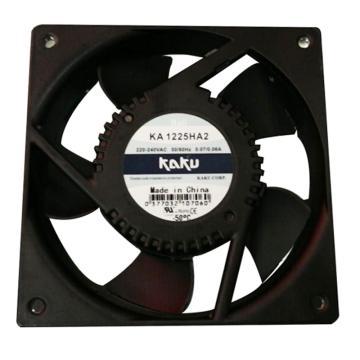 卡固 散热风扇,KA1225HA2(插片式),滚珠型,220/240V