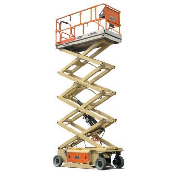 JLG ES系列电动剪式高空作业平台,平台最大高度(m):9.68,额定载重(kg):318,型号 3246ES