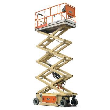 JLG ES系列电动剪式高空作业平台,平台最大高度(m): 7.92,额定载重(kg):454,型号 2646ES