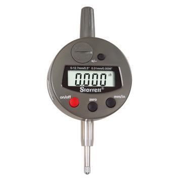 施泰力 电子式百分表,公制、0-12.7mm,3600M-5