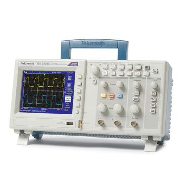 Tektronix/泰克 数字存储示波器TDS2001C,2通道,50MHz,0.5GS/s