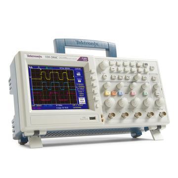 Tektronix/泰克 数字存储示波器TDS2004C,4通道,70MHz,1GS/s