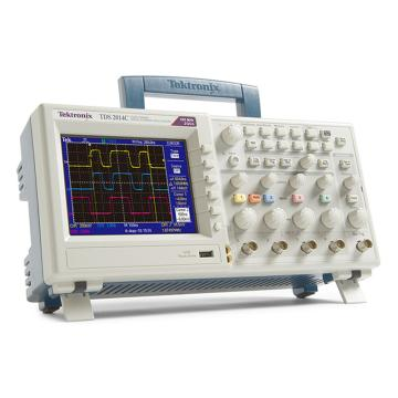Tektronix/泰克 数字存储示波器TDS2014C,4通道,100MHz,2GS/s