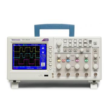 Tektronix/泰克 数字存储示波器TDS2024C,4通道,200MHz,2GS/s