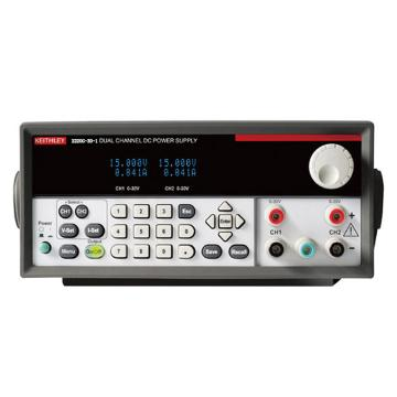 KEITHLEY/吉时利 多输出直流电源2220G-30-1,2通道,30V,1.5A,USB&GPIB连接