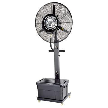 绿益 移动固定型工业喷雾风扇,HW-26MC03,黑色方形水箱,容量41L,风叶650mm