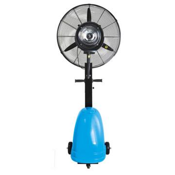 绿益 移动升降型工业喷雾风扇(带遥控),HW-26MC02-RC,蓝色椭圆水箱,容量41L,风叶650mm