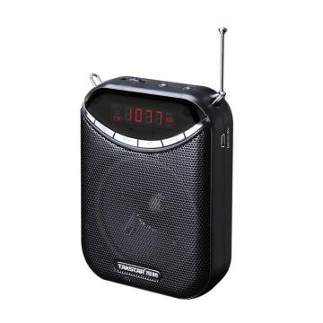Takstar/得胜 E190M有线扩音器FM收音播放录音插卡音箱便携扩音器 黑色