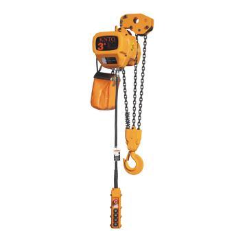 起泽环链电动葫芦 固定式, 380V HHBD-3T*3米(单链)5.6M/min