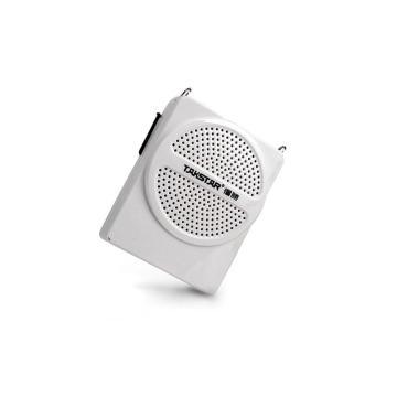 得胜(Takstar) 便携式扩音器,小蜜蜂教学腰挂喊话器喇叭 白色 E126 单位:套