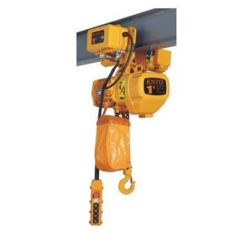 起泽环链电动葫芦 运行式, 380V HHBD-1T*3米(单链) 6.8M/min