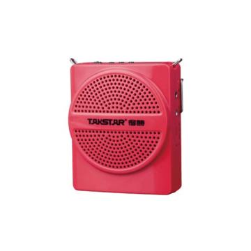 Takstar/得胜 E188 小蜜蜂腰挂大功率教师教学扩音器导游喊话器 红色