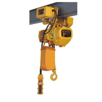起泽环链电动葫芦 运行式, 380V HHBD-2T*3米(单链) 6.8M/min